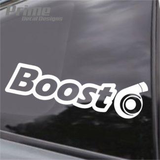 Boost Turbo Decal