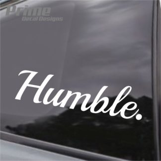 Humble Decal