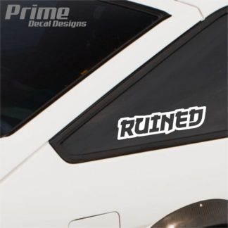 Ruined Decal