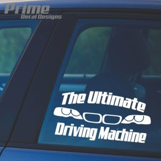 BMW The Ultimate Driving Machine Decal