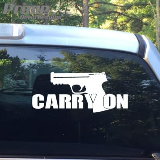 Carry On Concealed Decal