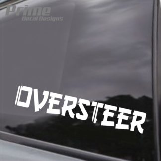 Oversteer Drift Decal
