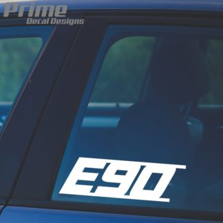 BMW E90 Decal