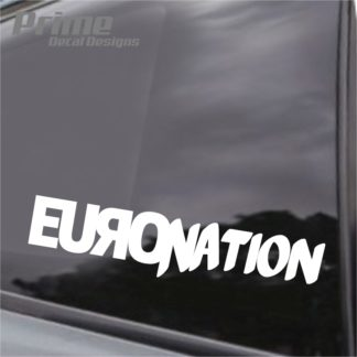 Euro Nation Decal