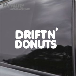 Drift n Donuts Decal