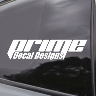 Prime Decal Designs Logo Decal