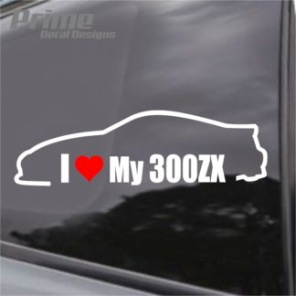 Nissan I Love My 300ZX Decal