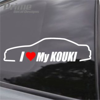 Nissan I Love My Kouki S14 240sx Decal