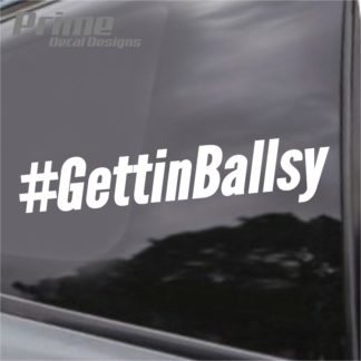 #GettinBallsy Decal