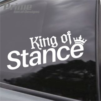 King Of Stance Decal