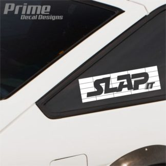 """Slap It"" Slap Decal"