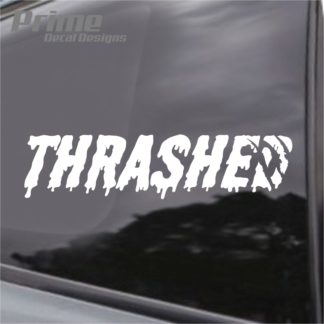 Thrashed Decal