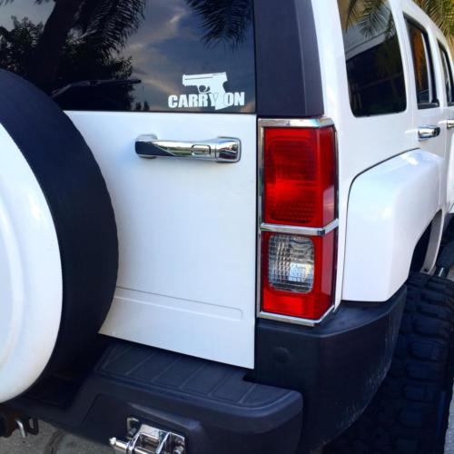 Carry On 2nd Amendment Vinyl Decal
