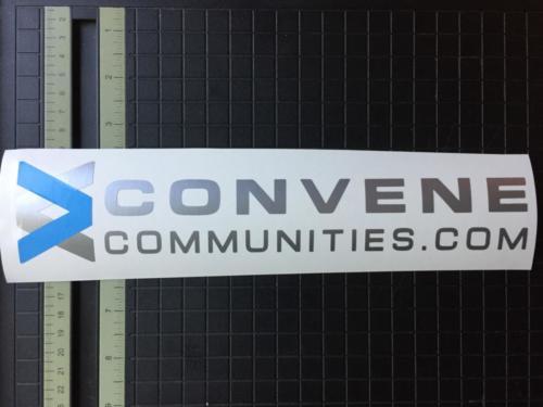 Convene Communities Vinyl Decal