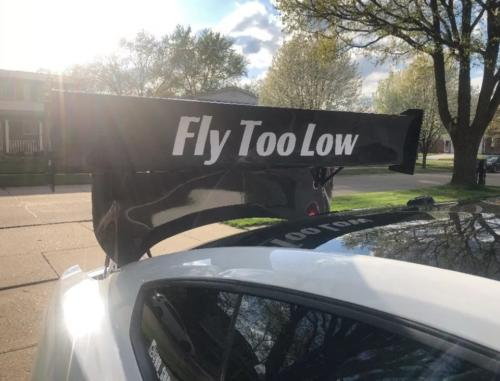 Fly Too Low Custom Banner