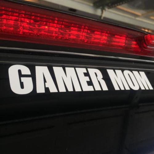 Gamer Mom Vinyl Decal