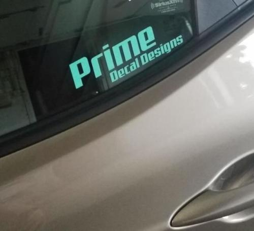 Prime Decal Designs Vinyl Decal